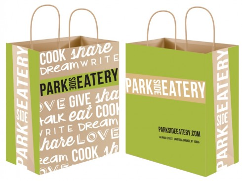 Park Side Eatery shopping bag