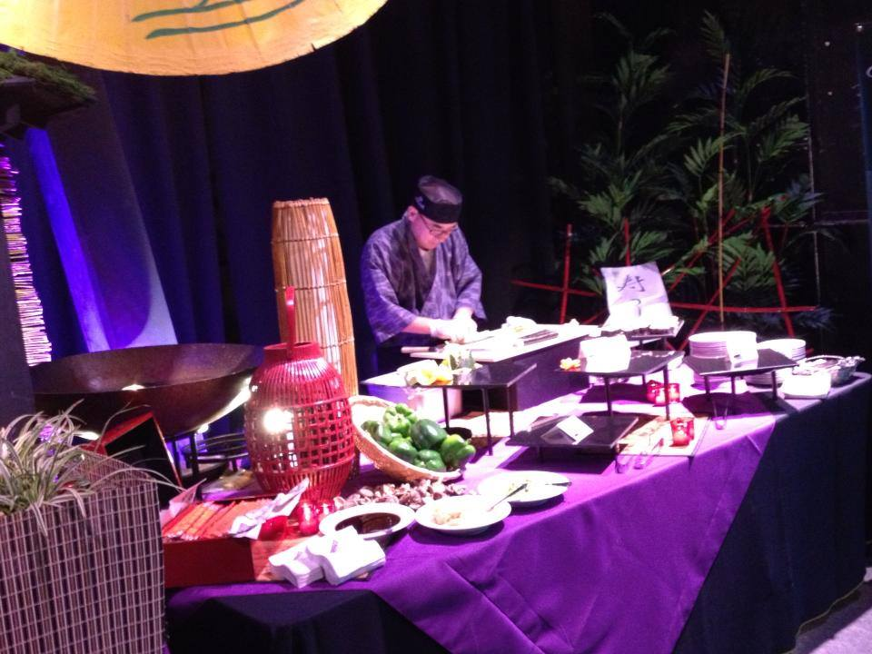 Wine and food festival gala