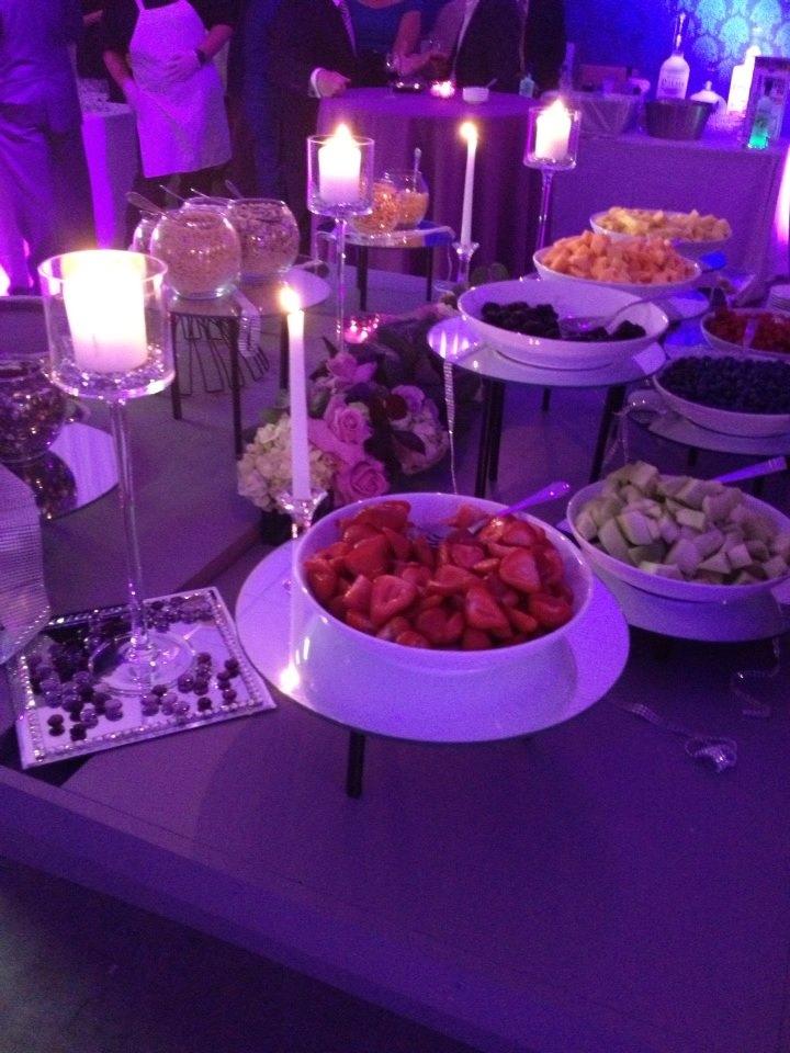 Wine and food fest gala desserts
