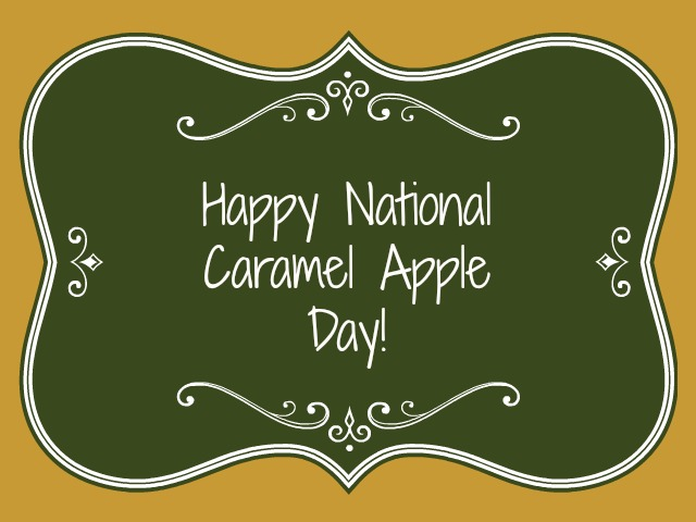 caramel apple day