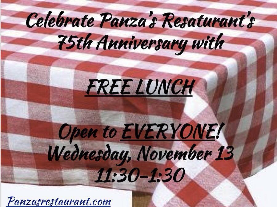 Panza's 75th Anniversary