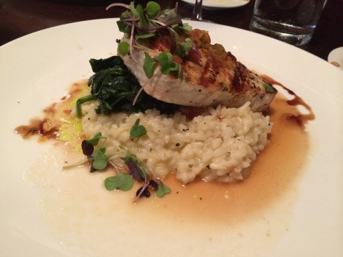 swordfish at mio posto