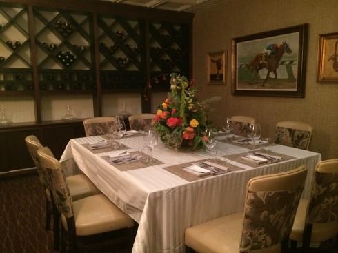Private Dining Area at Maestro's