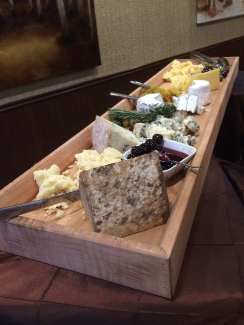 Cheese board at Maestro's