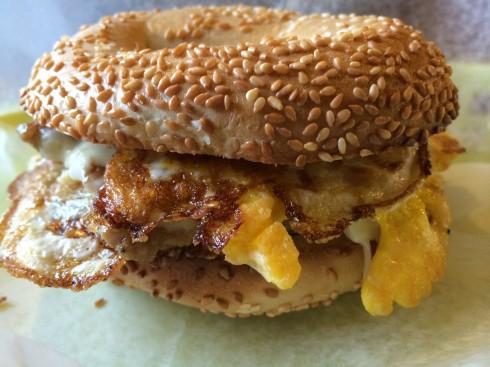 Spring Street Breakfast Sandwich