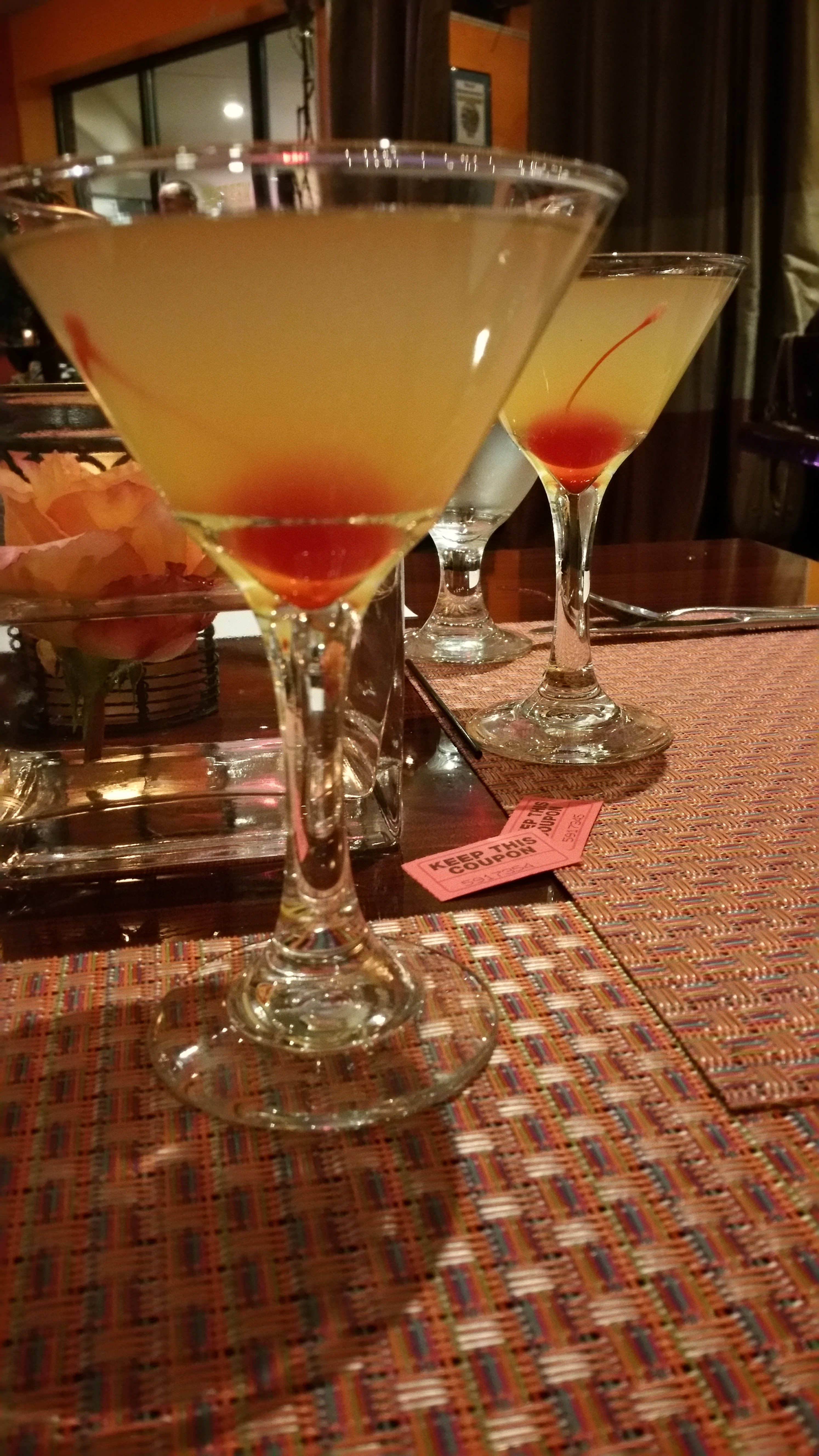 Italian OWL margarita three vines bistro