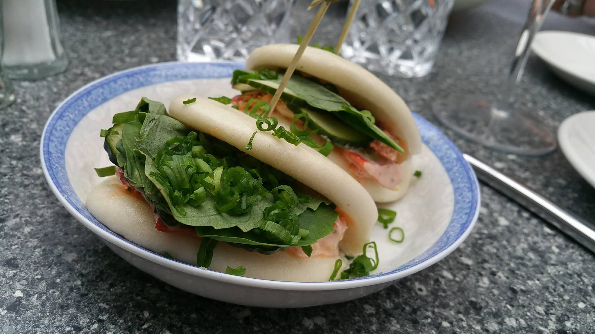 Lobster bao buns