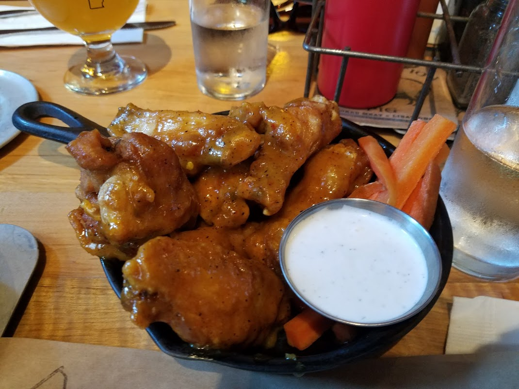 Prohibition Pig Chicken Wings