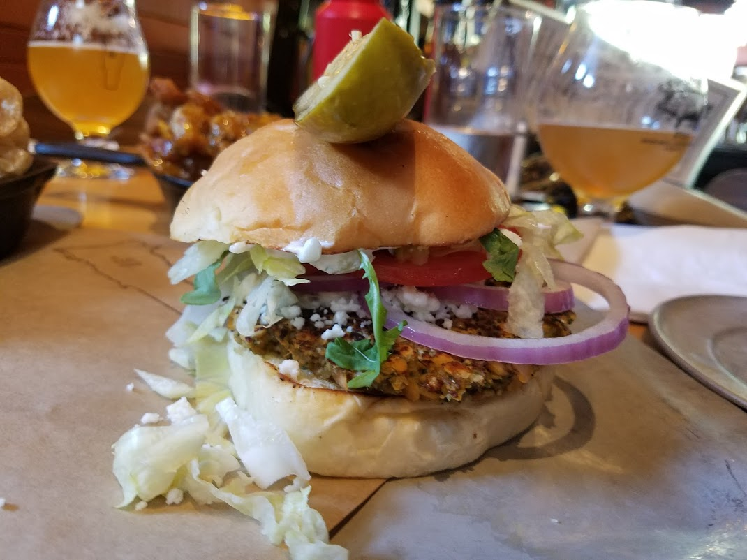 Falafel Burger Prohibition Pig