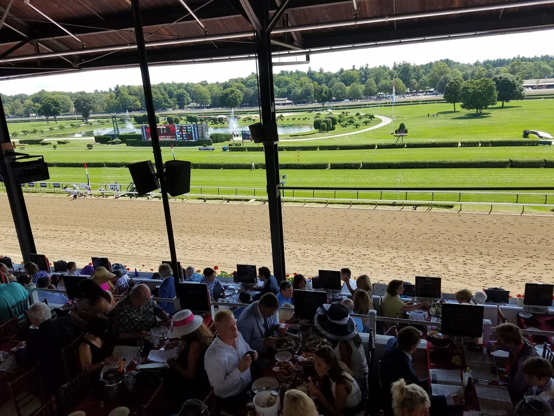 Turf Terrace at Saratoga Race Course