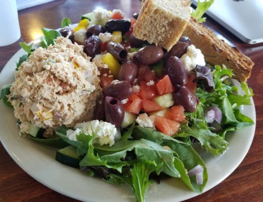 Greek Salad at Spot Coffee