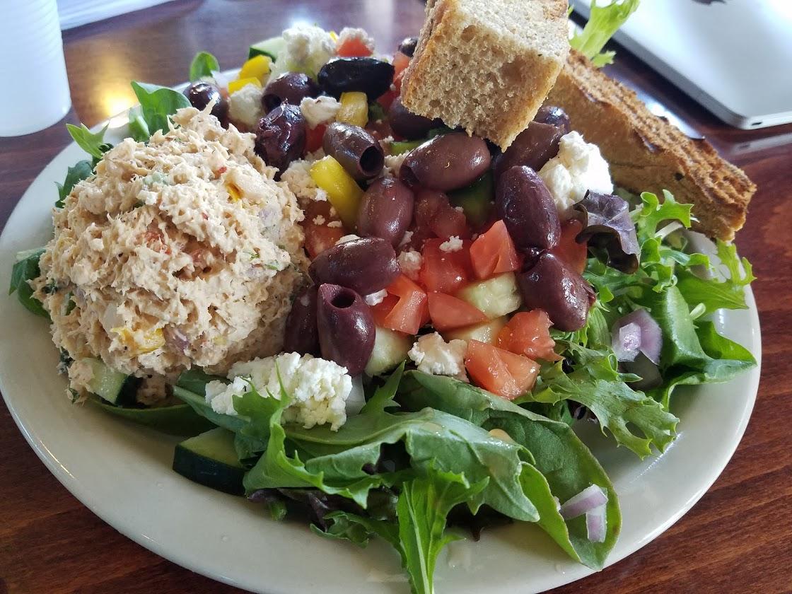 Greek Salad at Spot Coffee