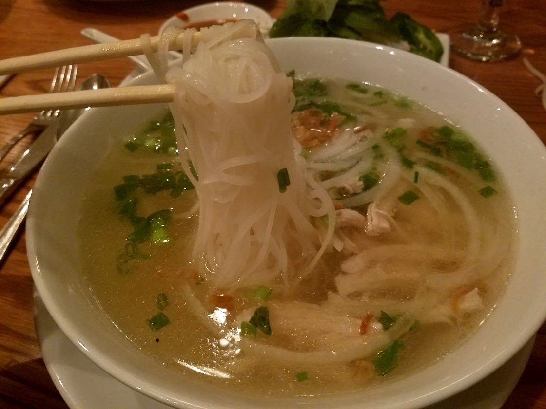 Saigon Spring chicken pho